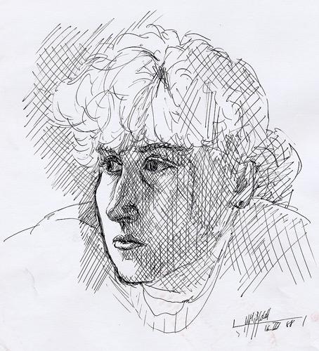 Federzeichnung Portrait